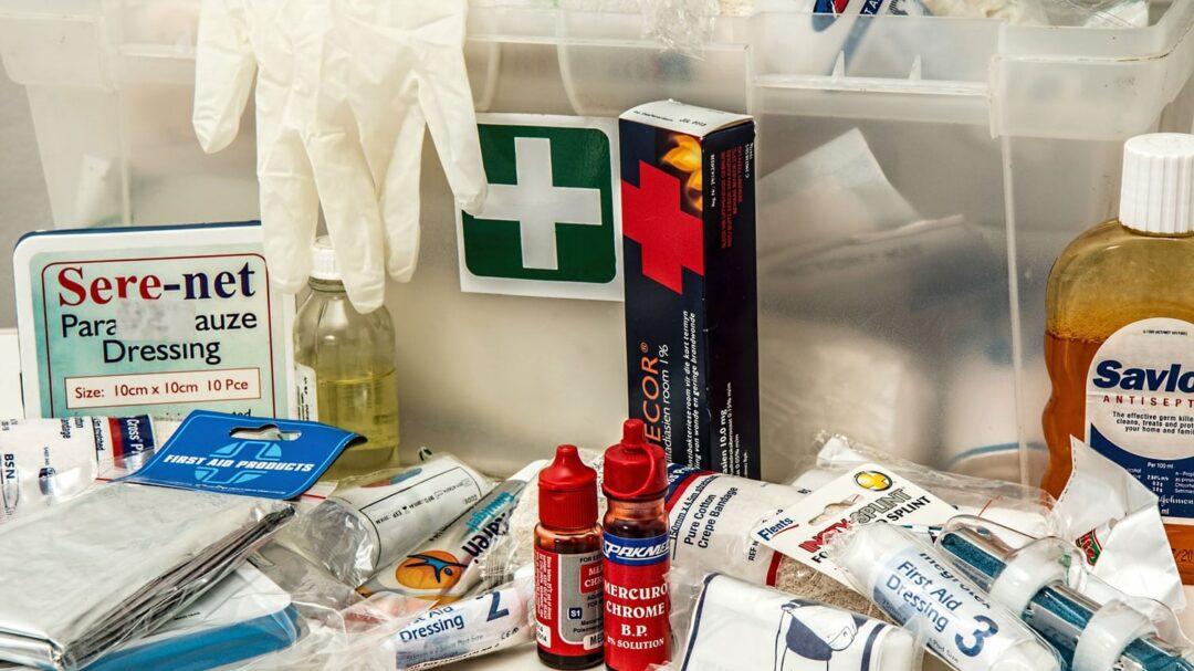 First Aid Supplies Travel First Aid Kit