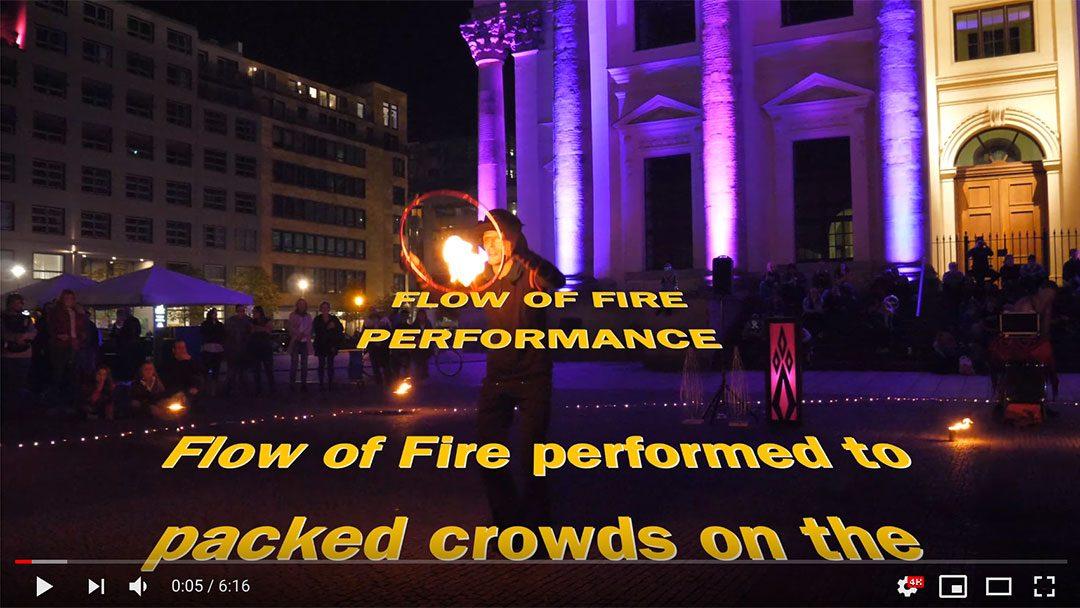 Flow of Fire – Berlin Leuchtet fire show 2018