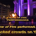 Flow of Fire – Berlin Leuchtet fire show 2018