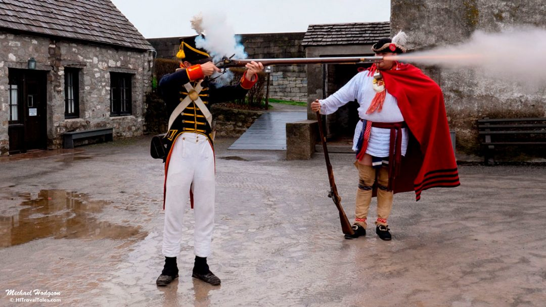 Old Fort Niagara Musket Firing Demonstration