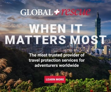 Global Rescue Ad - travel insurance for when it matters most