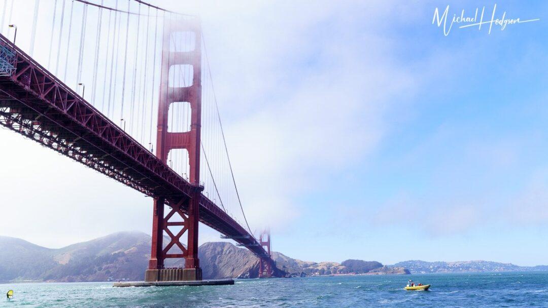 Golden Gate Bridge View Fort Point