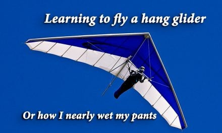 Learning to fly a hang glider. Or how I nearly wet my pants