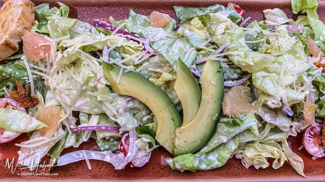 NOYO Caesar Salad At Noyo Harbor Inn In Fort Bragg