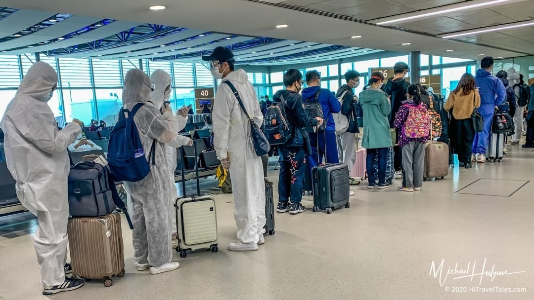 Hazmat Style Suits Heathrow Airport A World Forever Changed