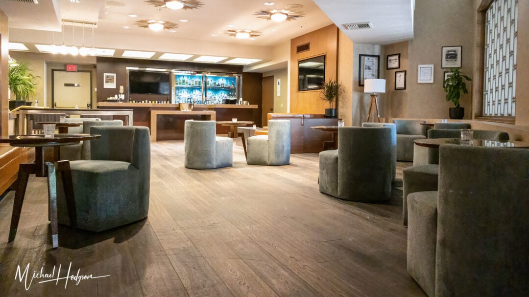 Hilton Palm Springs Hotel Downstairs Bar