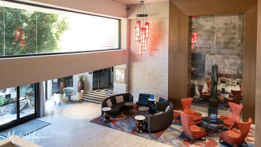 Hilton Palm Springs Resort Hotel Lobby