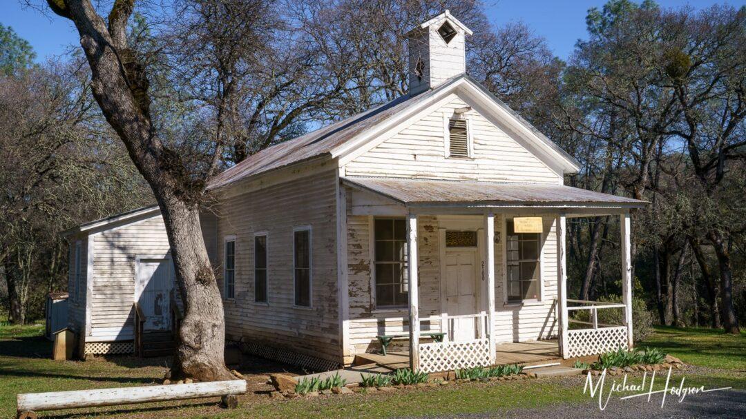 Historic School House Oregon City California