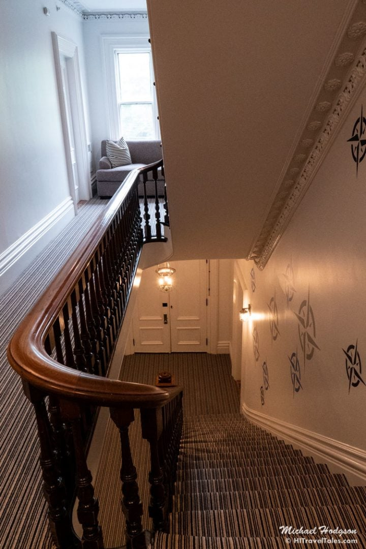 Hotel Marblehead Staircase