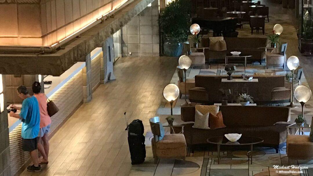 Hotel Safety Luggage In Hotel Lobby