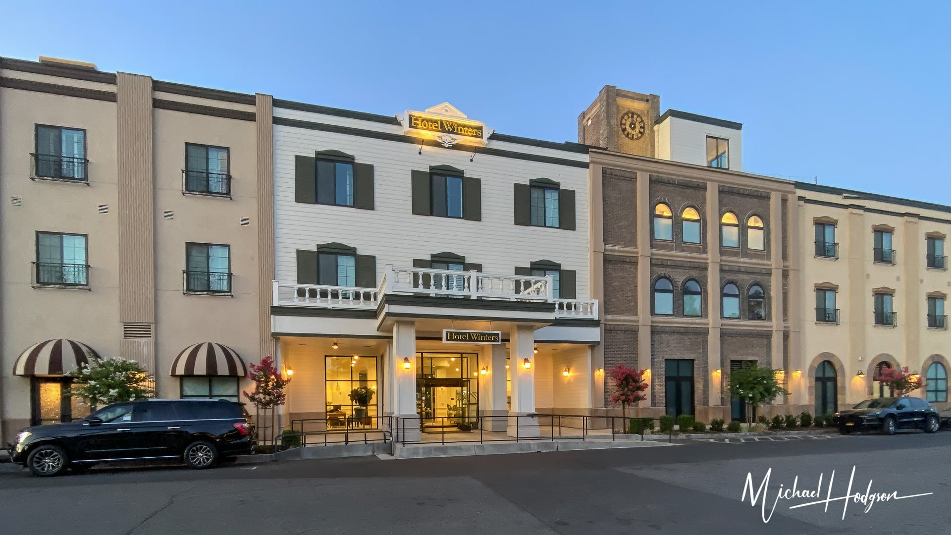 Hotel Winters Yolo County Hotel Front Entrance