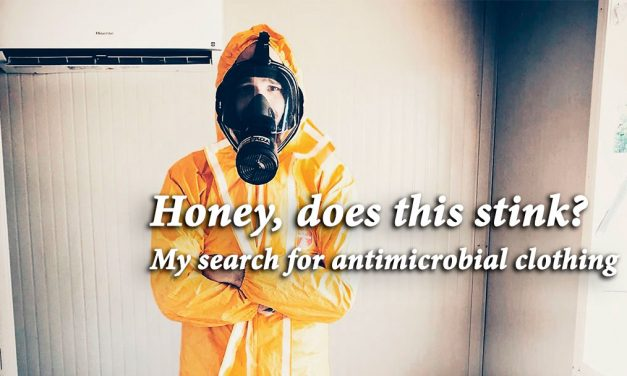 Honey, does this stink? My search for antimicrobial clothing
