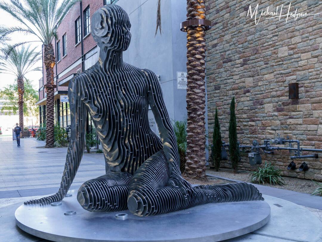 Isabelle Sculpture Solid Public Art Palm Springs