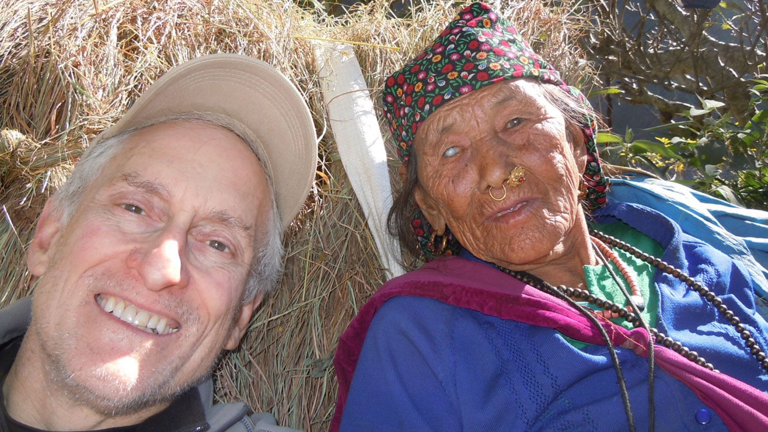 Jeff Blumenfeld And Friend Nepal