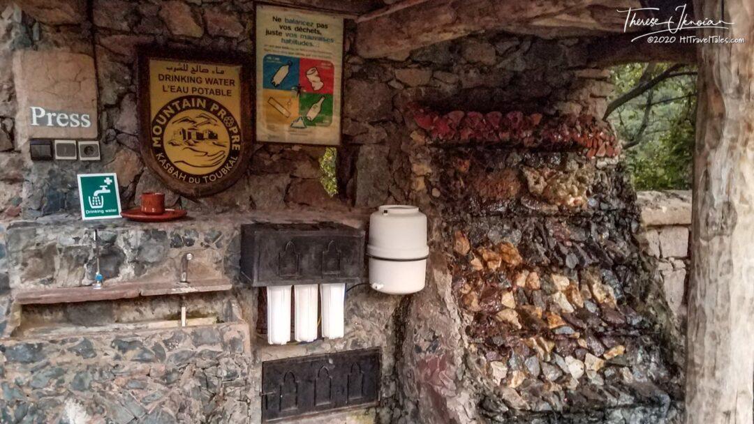 Kasbah Du Toubkal Hotel Water Station