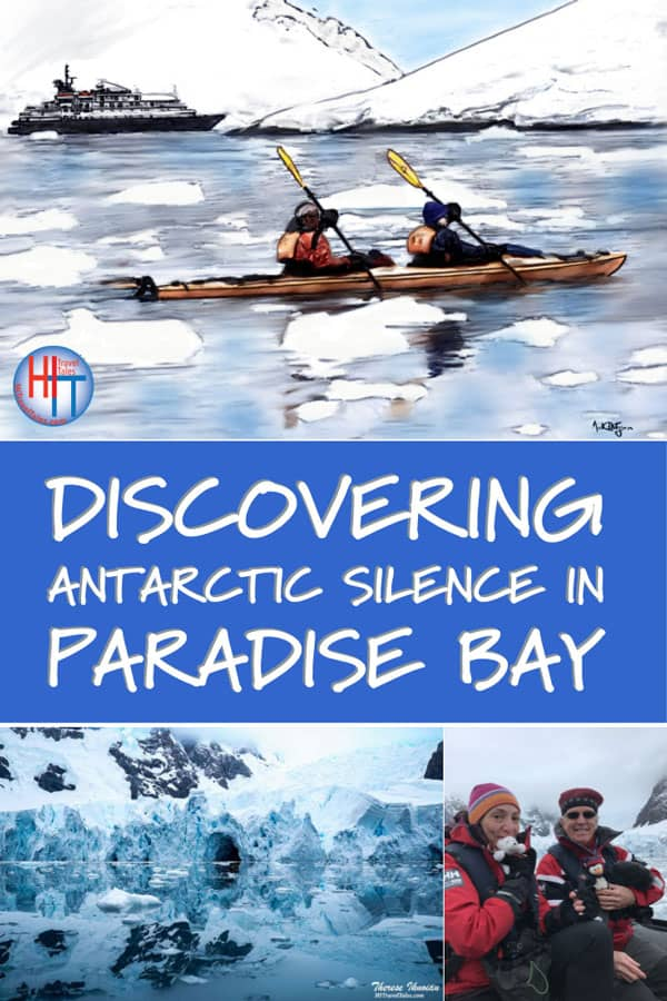 Kayaking On Paradise Bay Antarctica