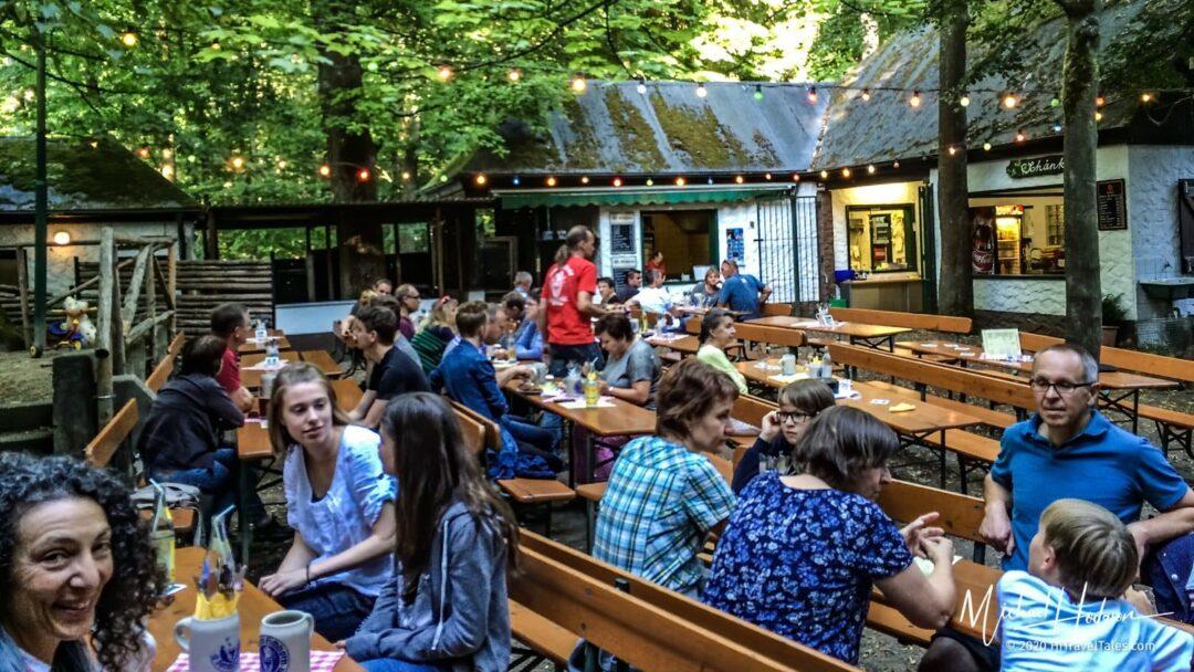 Beer Gardens In The Kellerwald