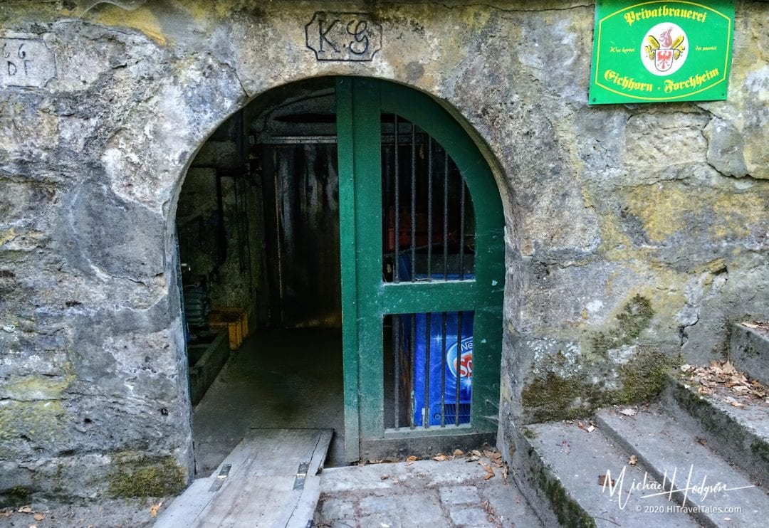 Entrance To One Of The Kellerwald Beer Garden Storage Cellars.