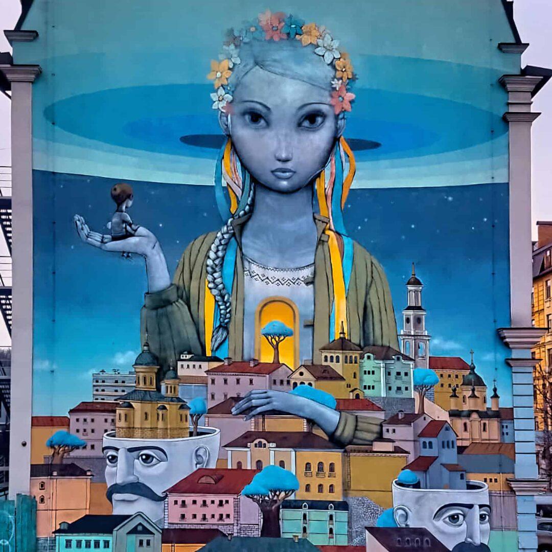 Kiev Street Art Andriyivskmyy Descent