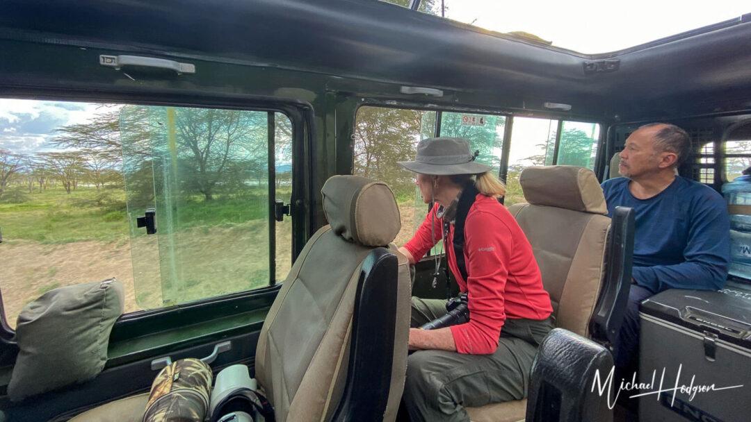 Land Cruiser Inside Vehicle