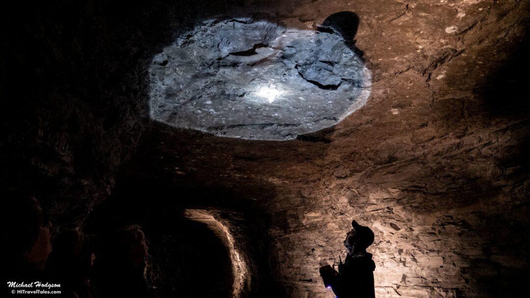 Lockport Cave Stalactite