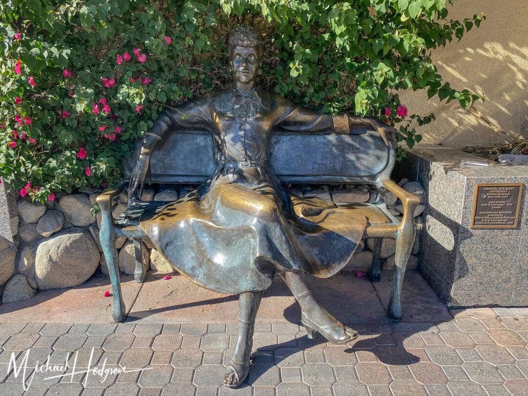 Lucille Ball Public Art Palm Springs