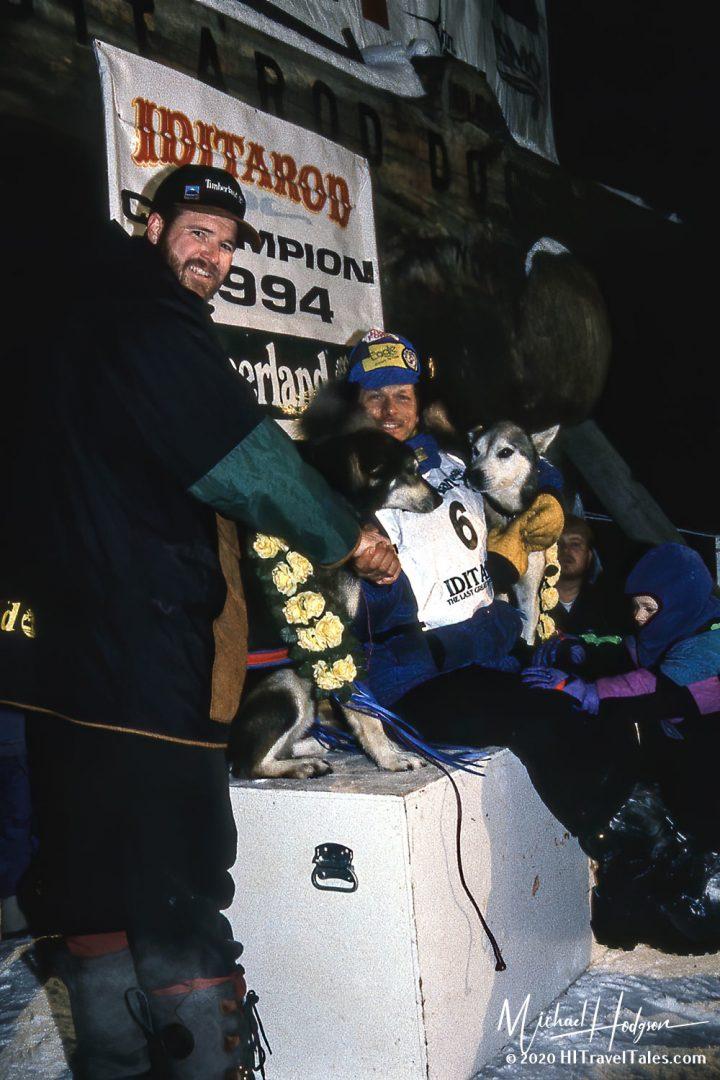 Martin Buser Winner Of The 1994 Iditarod Sled Dog Race.
