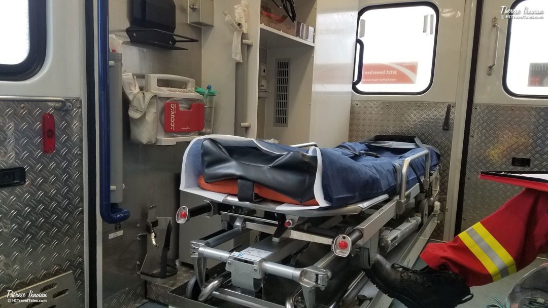 Medical Emergencies While Traveling Ambulance