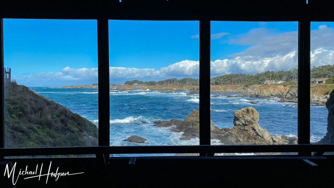 Mendocino Coast Botanical Gardens Cliff House View