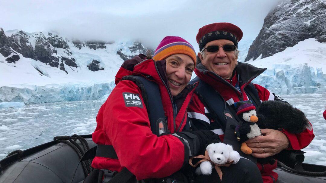 Michael Therese Paradise Bay Antarctica