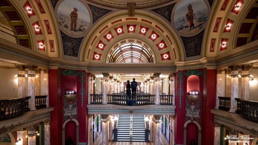 When you visit Helena, be sure to peek inside the Montana State Capitol building