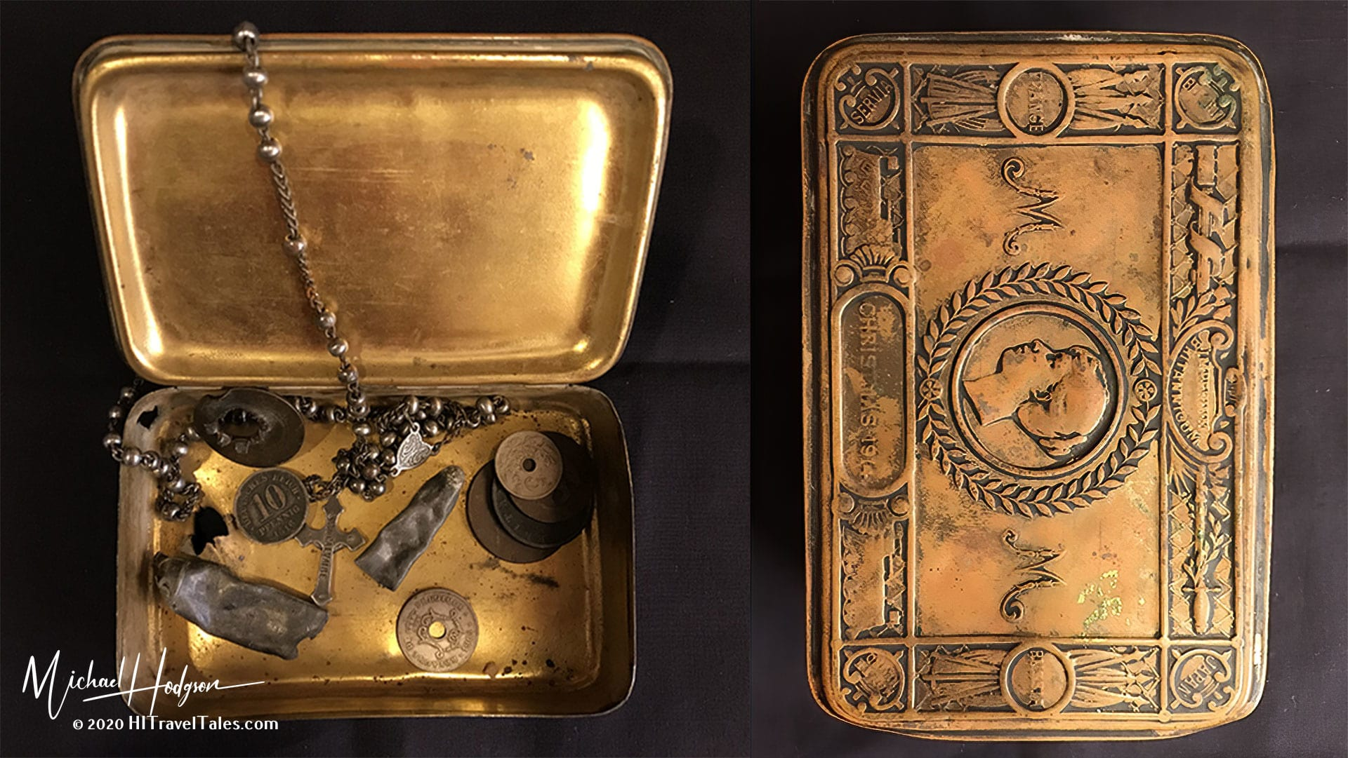 My Grandfathers Life In A Box 1914 Princess Mary Gift Box