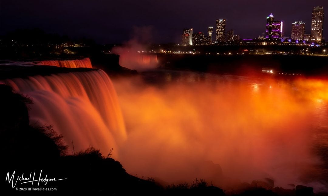 Niagara Falls Illuminated