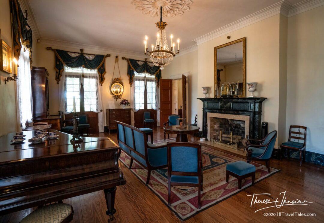 Oak Alley Living Room