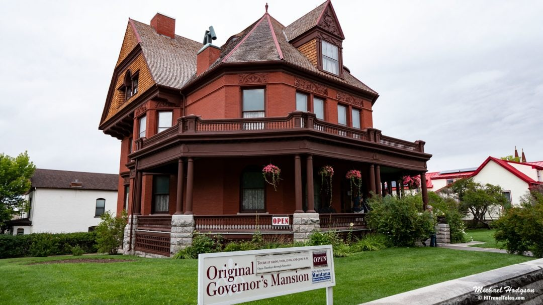 Original Governor's Mansion In Helena Montana