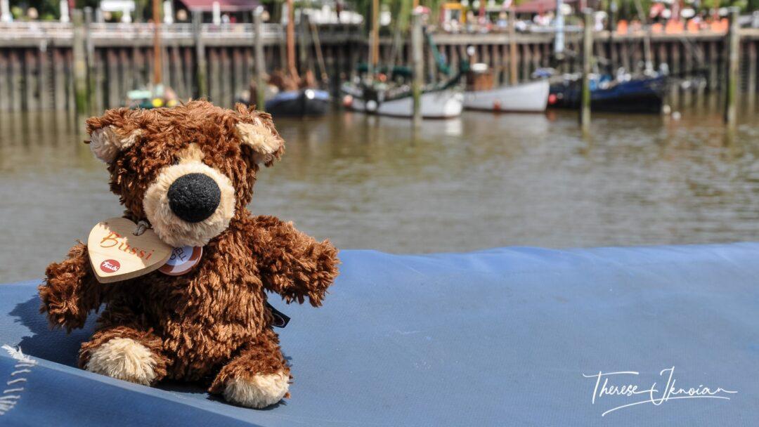 Orso In Hamburg Harbor