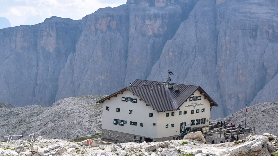 Piscadu Hut Dolomites