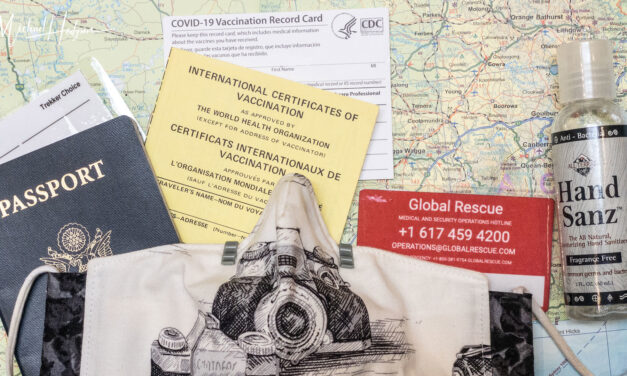 Post-pandemic planning checklist for vaccinated travelers