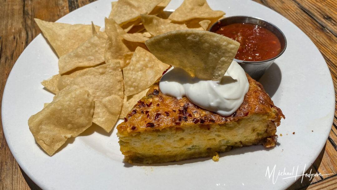 Putah Creek Cafe Corn Chile Pie