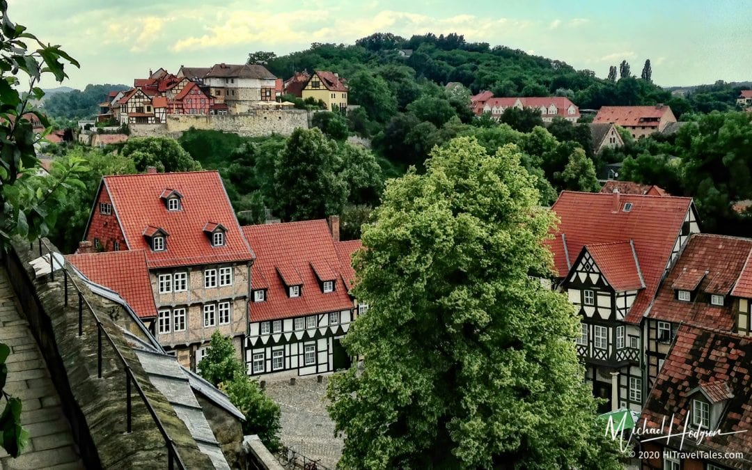 Quedlinburg View From The Castle Wall