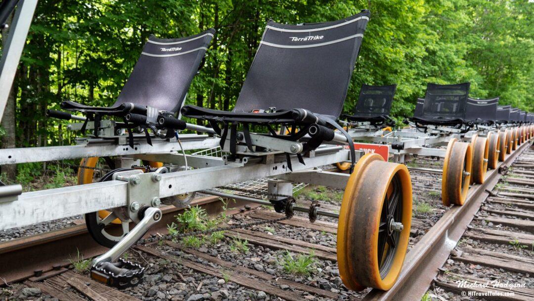Revolution Rail Rail Bikes