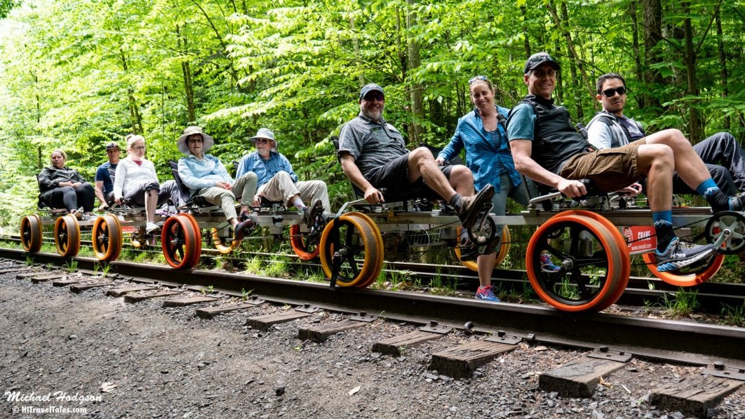 Rail Biking With Revolution Rail Group