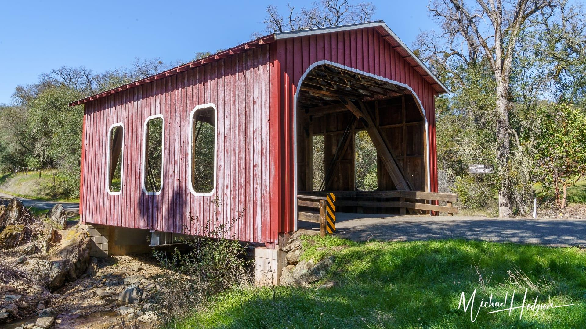 Red Covered Bridge Historic Oregon City