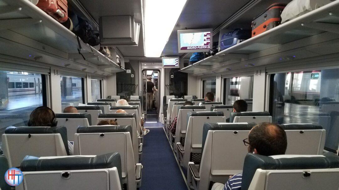 Renfe Train From Achoa Madrid To Algeciras