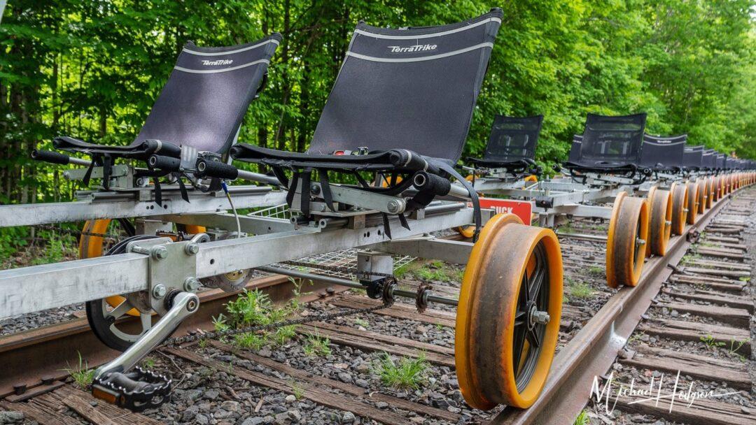Revolution Rail Railbikes Line