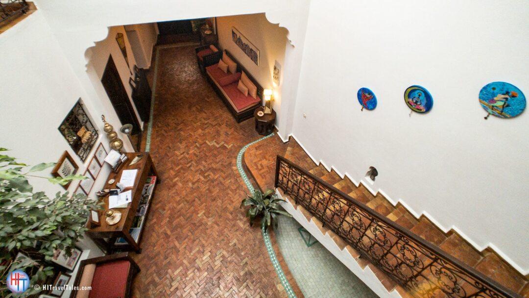 Asilah Dar Manara Lobby Stairs