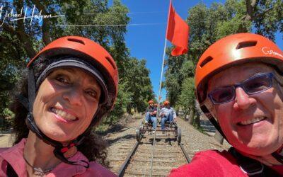River Fox Railbikes – Railbiking adventure near Sacramento
