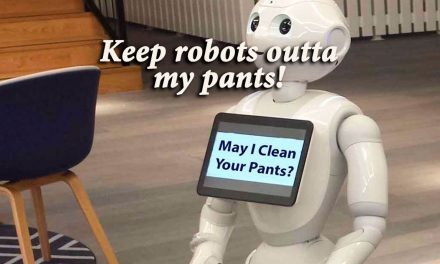 Keep robots outta my trousers – say no to nanopants
