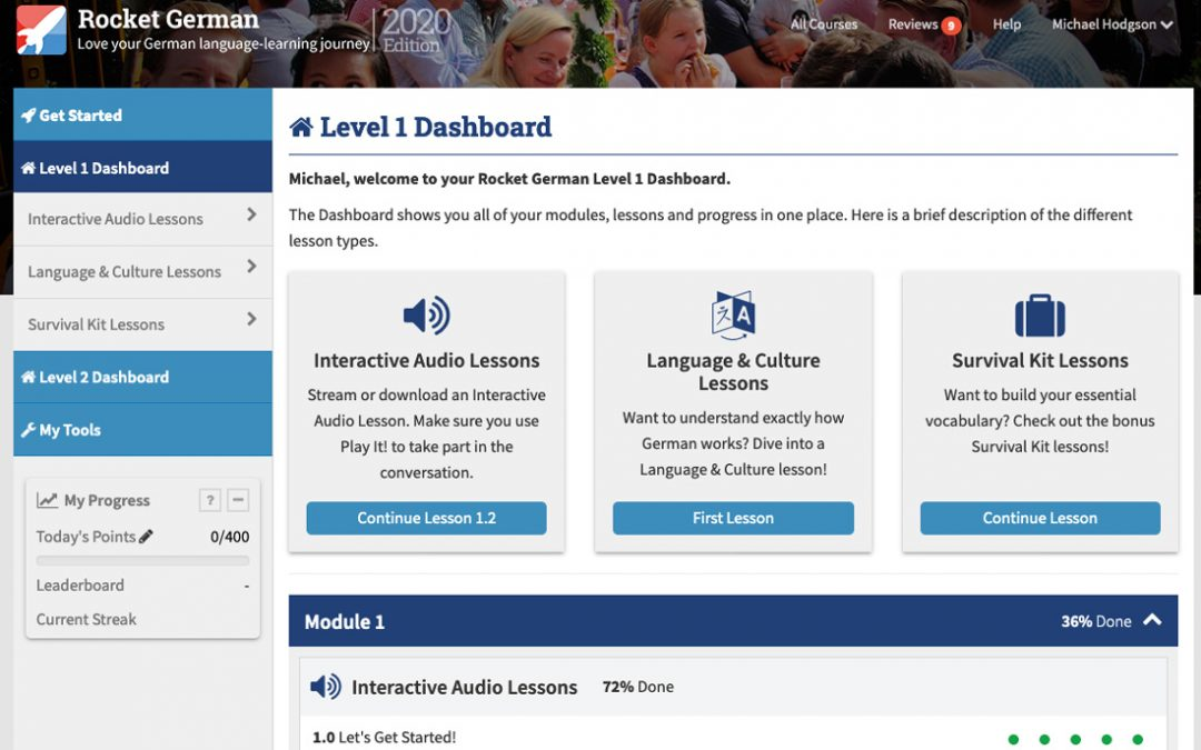 Rocket Language Language Learning Apps