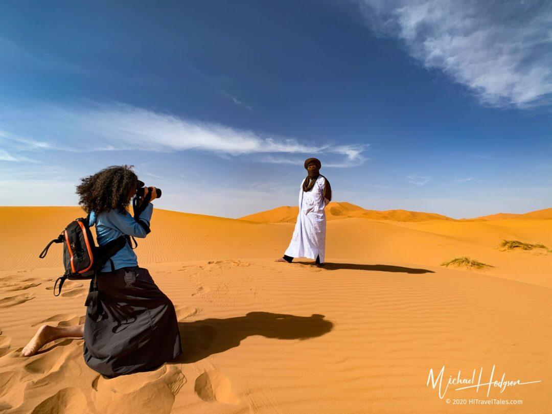 Sahara Photo Shoot With Therese Iknoian